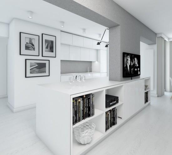 białe mieszkanie 1